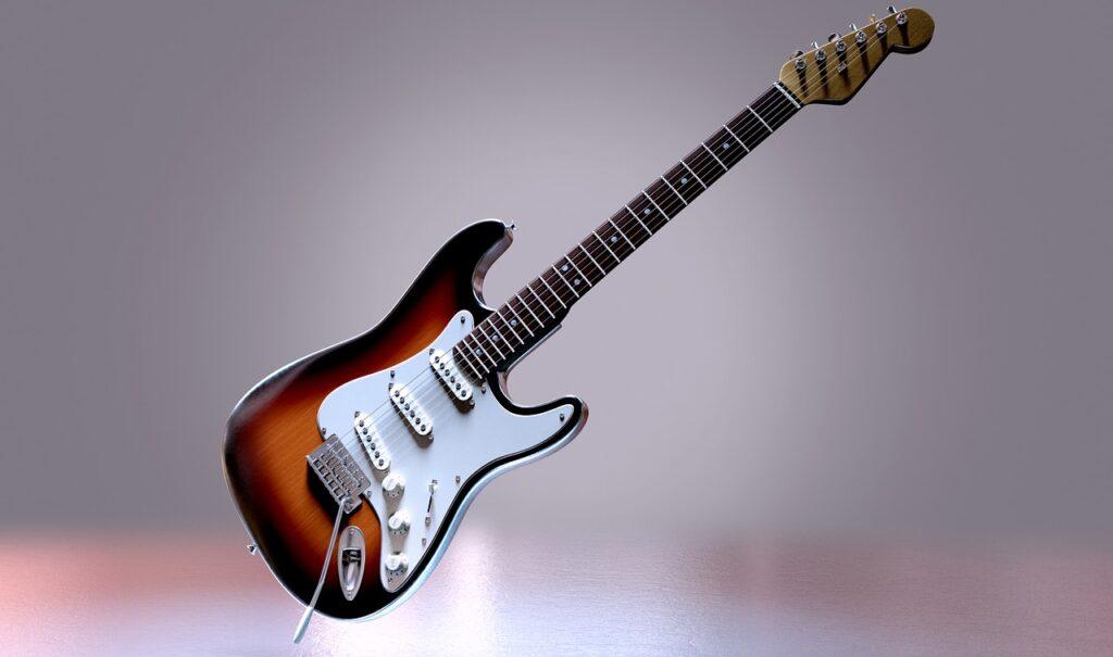 Gitara - obrazek dekoracyjny