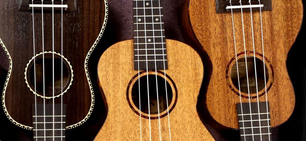 Gitary - obrazek dekoracyjny